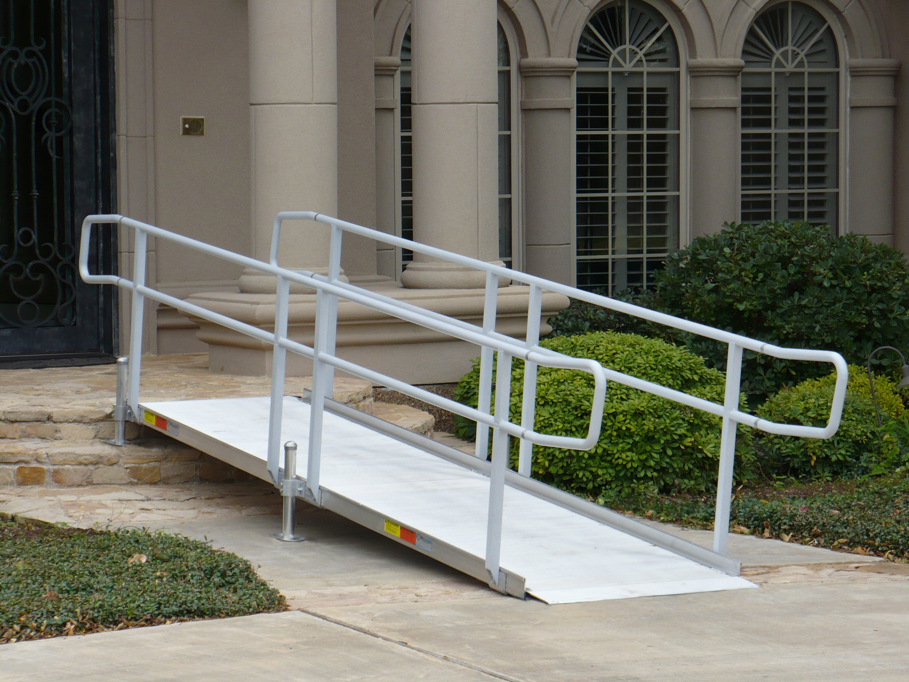 Wheelchair Ramps For Steep Stairs