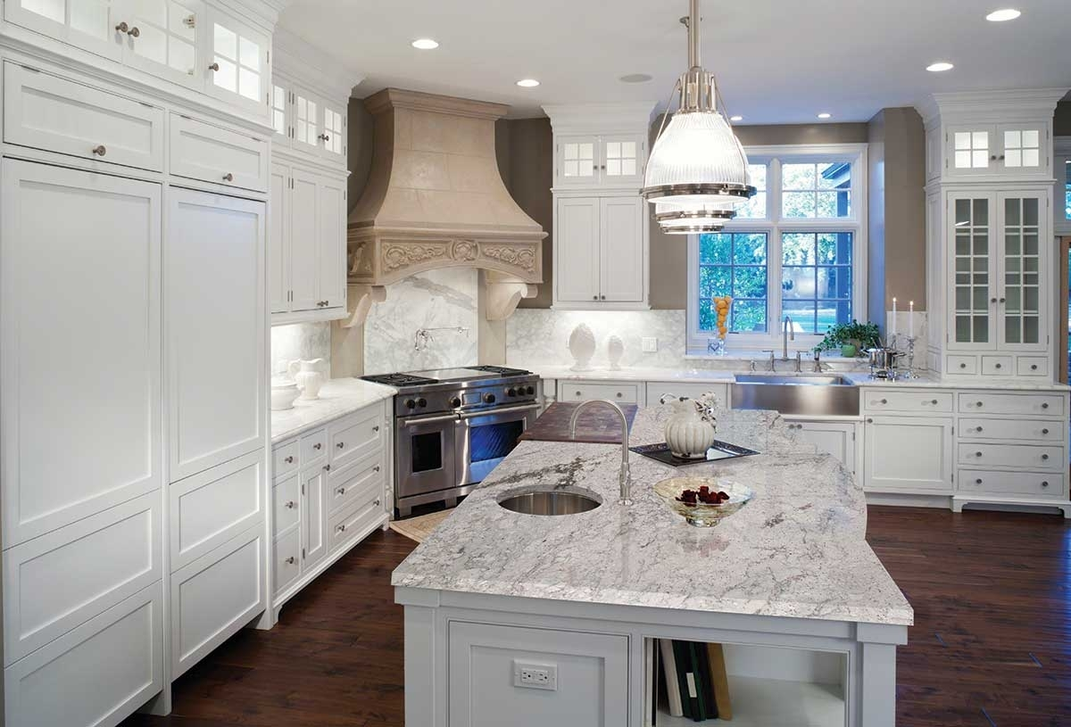 White Princess Granite Kitchen