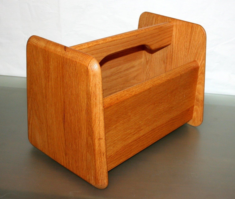 Madison Art Center Design: Wood Magazine Holder Design