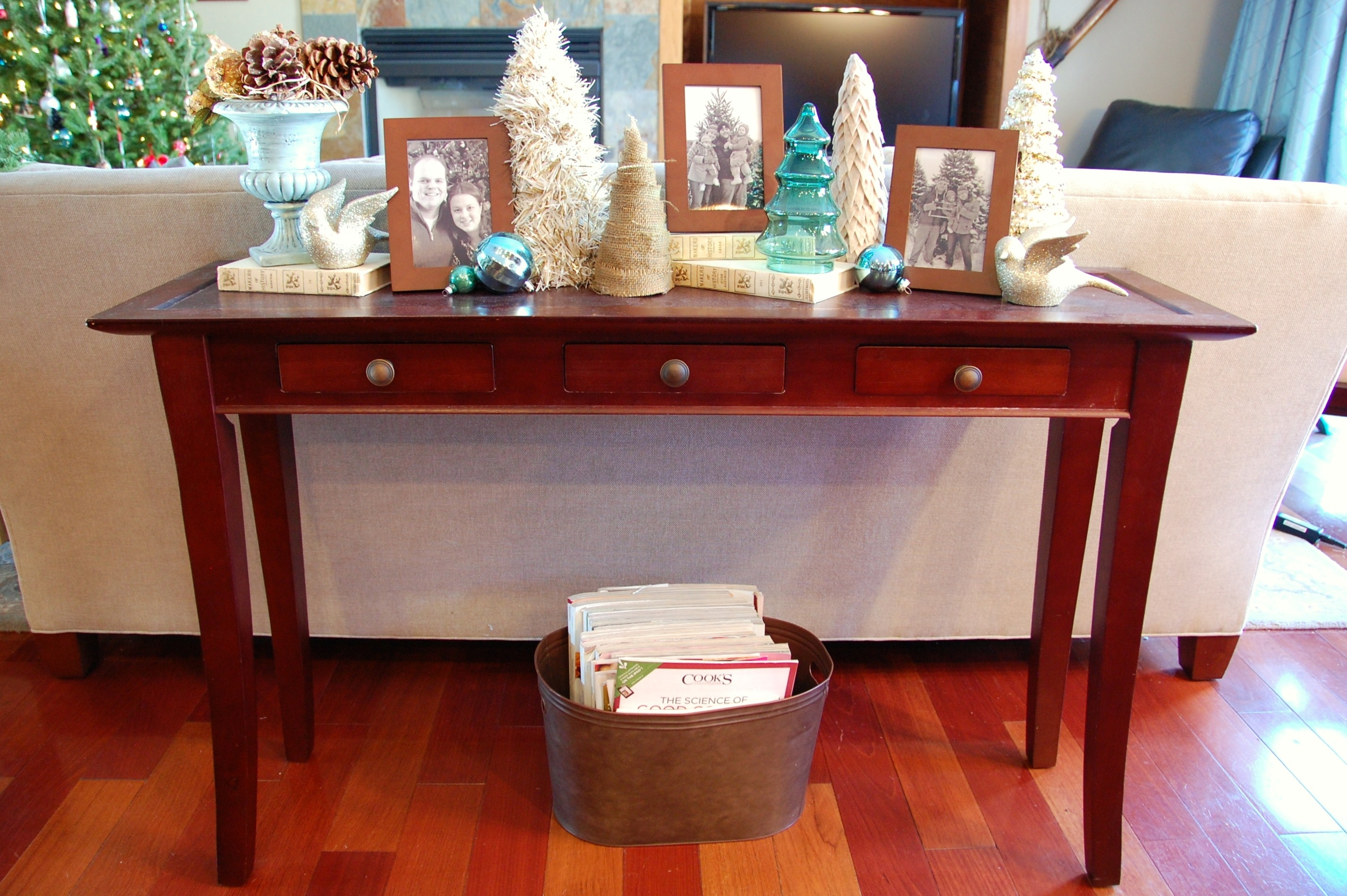 Wooden Hemnes Sofa Table