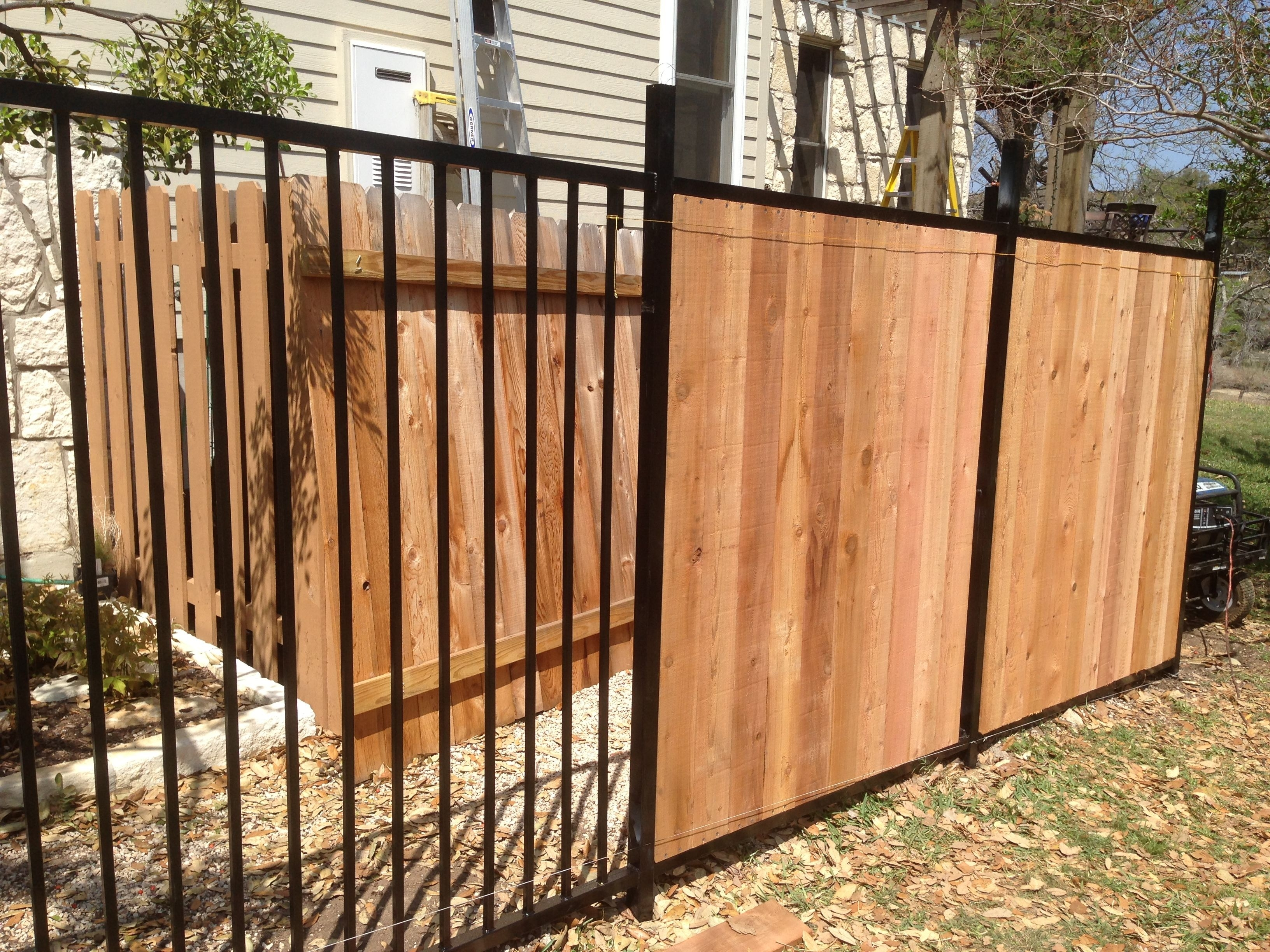 Wrought Iron Fence Dimensions