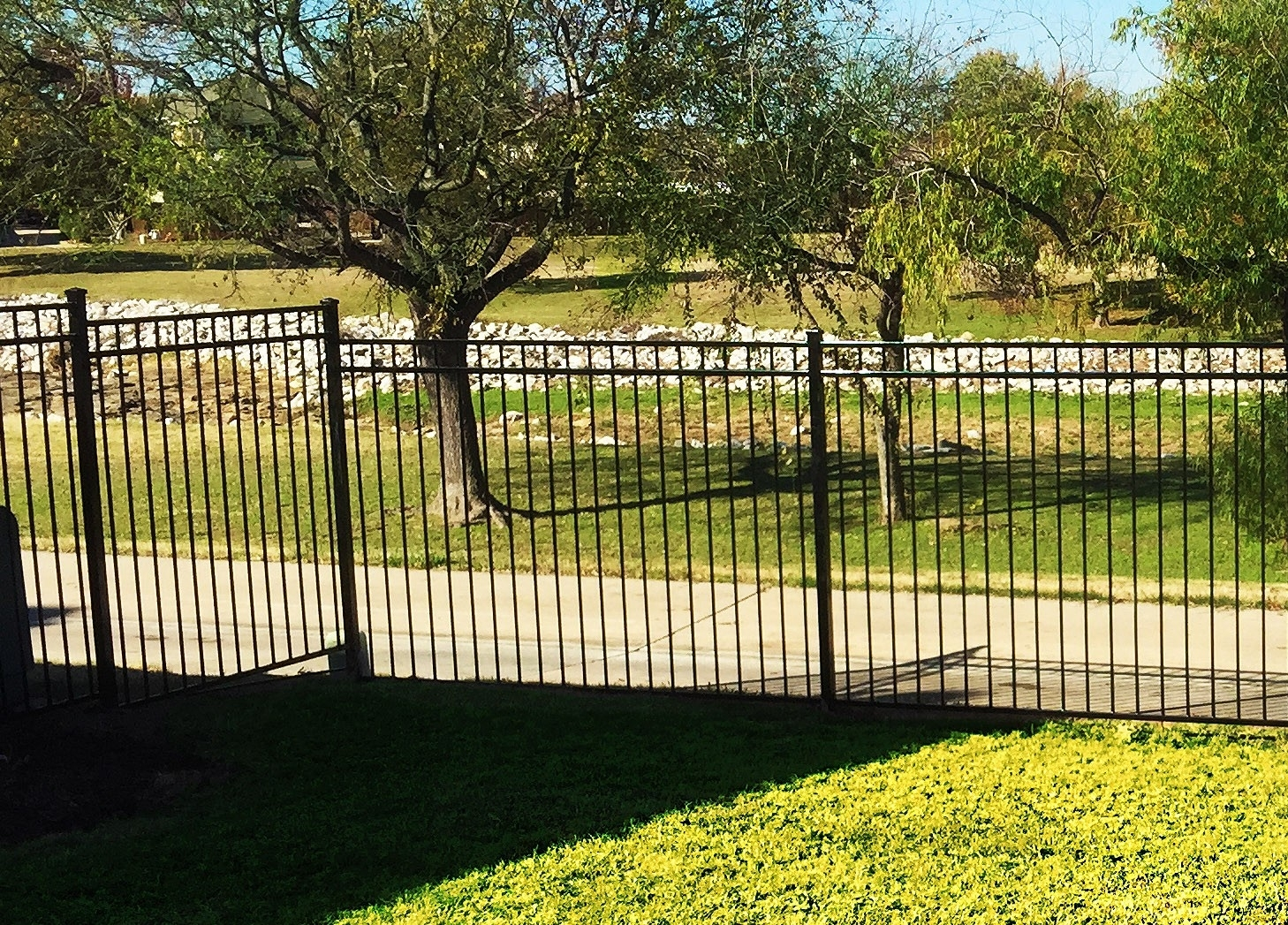 Wrought Iron Fences Simple And Beautiful Madison Art