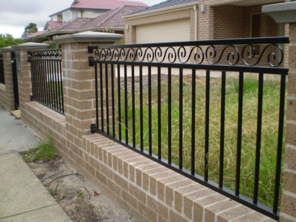 Wrought Iron Fence Gate Latch