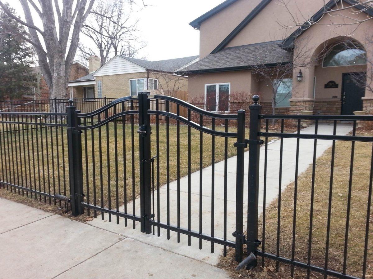 Wrought Iron Fence Gates Design