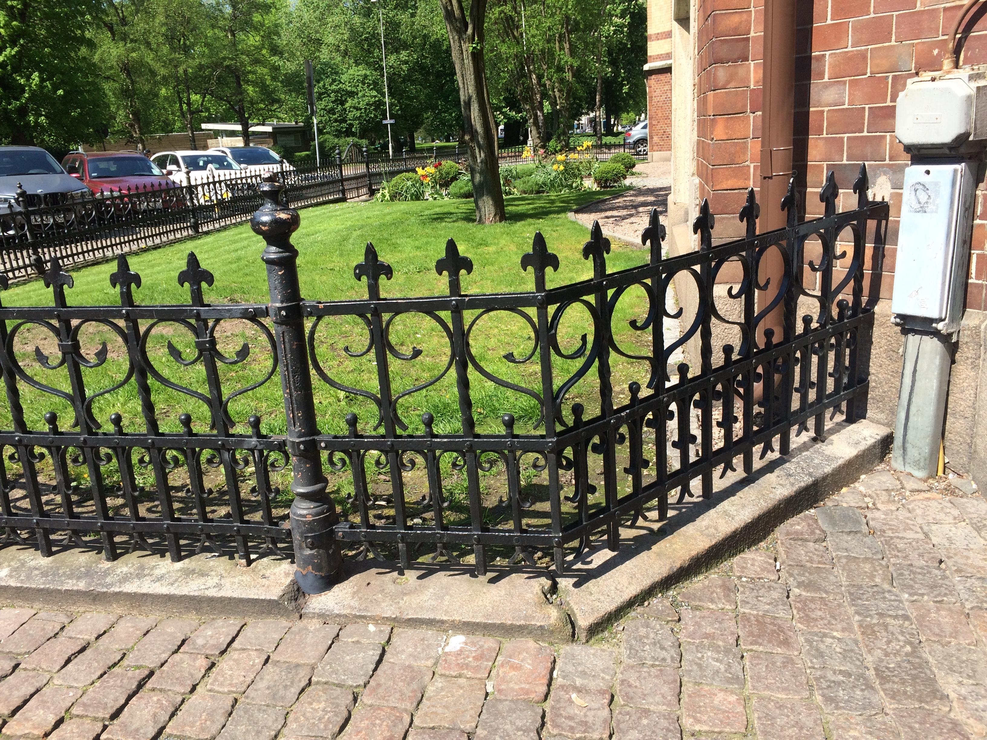 Wrought Iron Fence Hinges