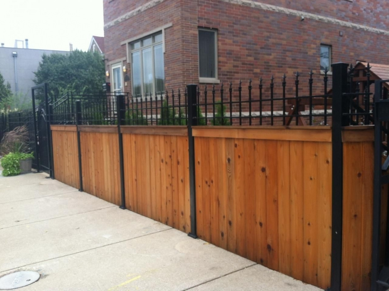 Wrought Iron Fence Installation Cost