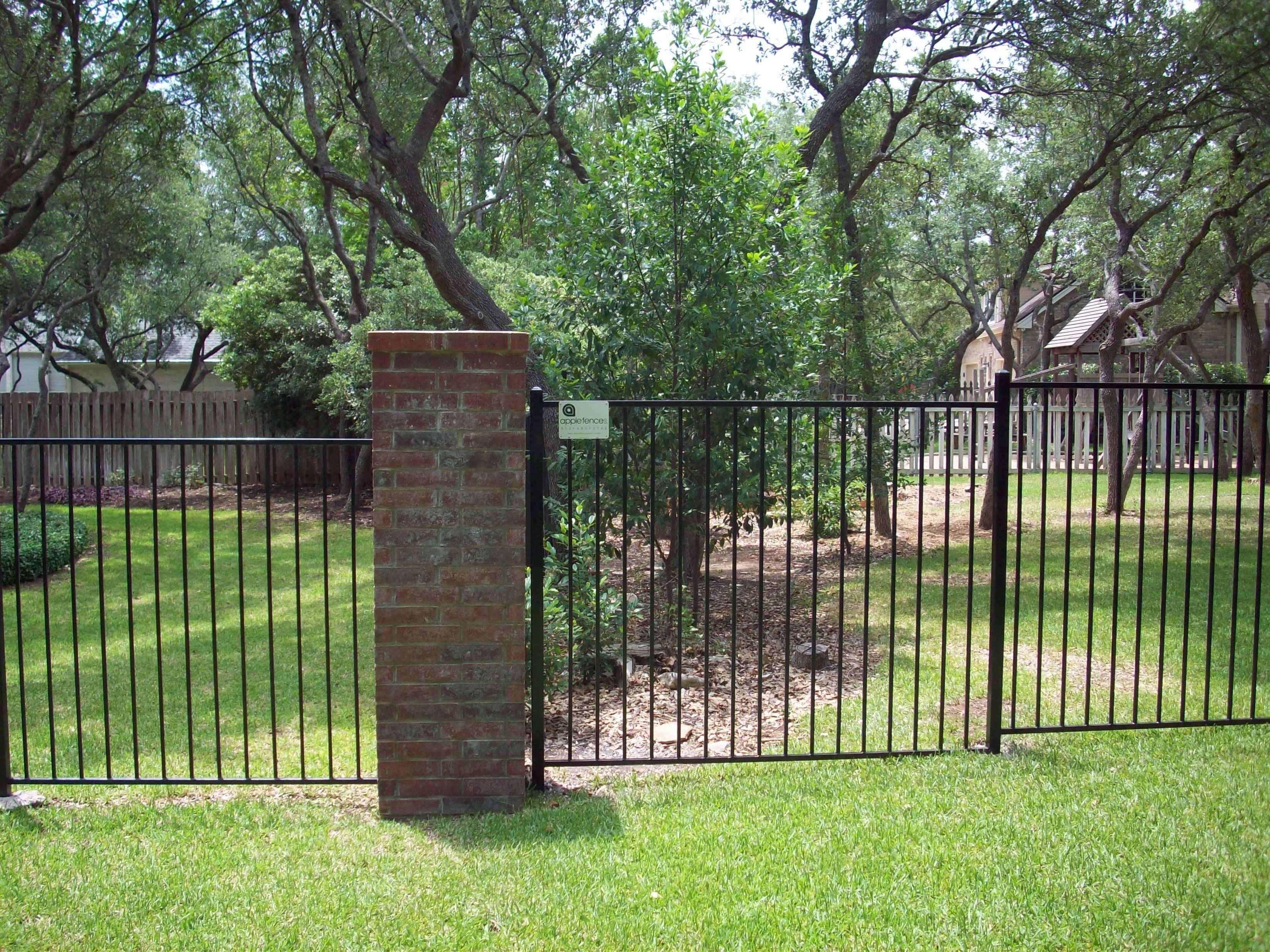 Wrought Iron Fence Painting Cost