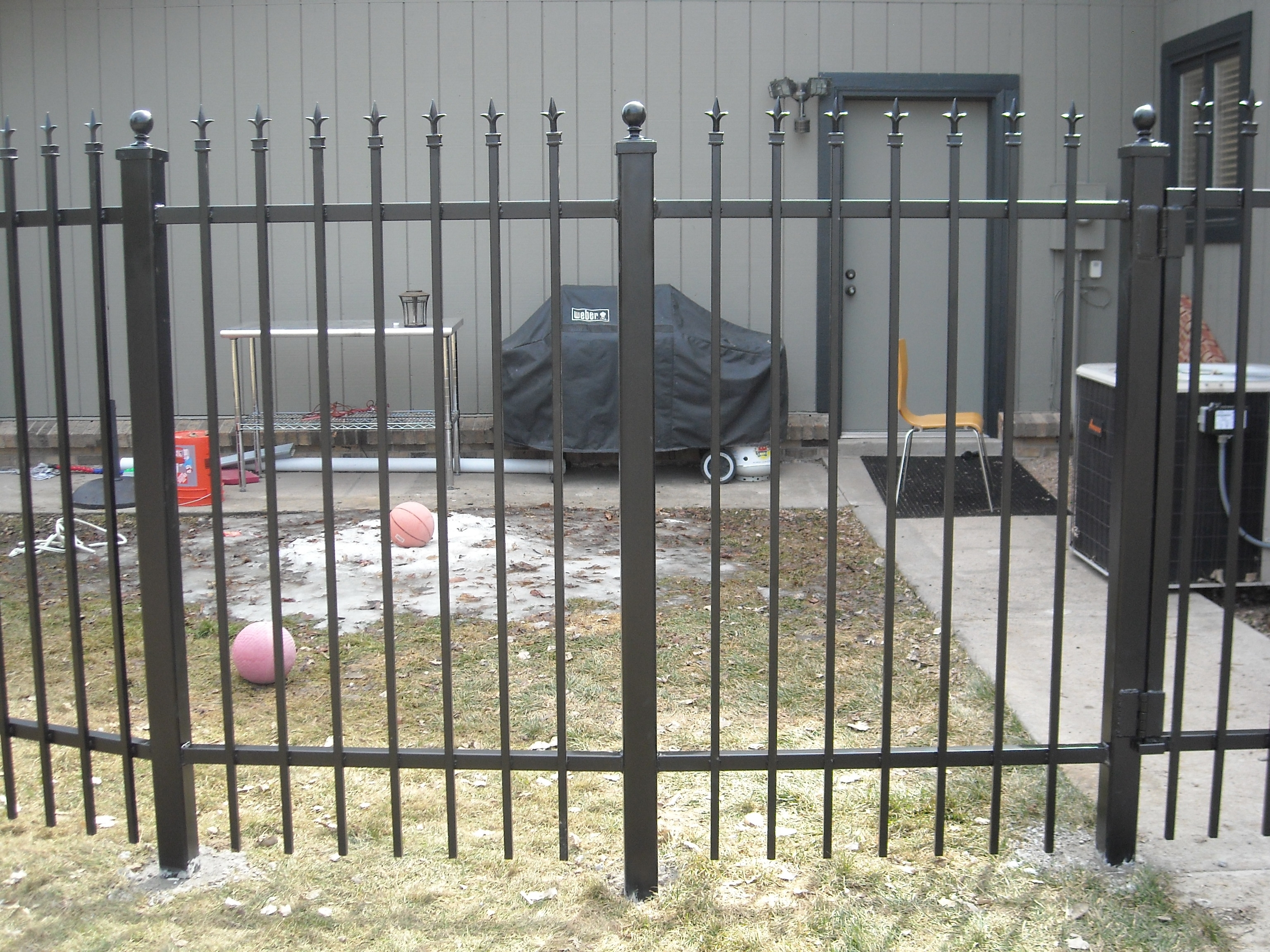 Wrought Iron Fence Repair