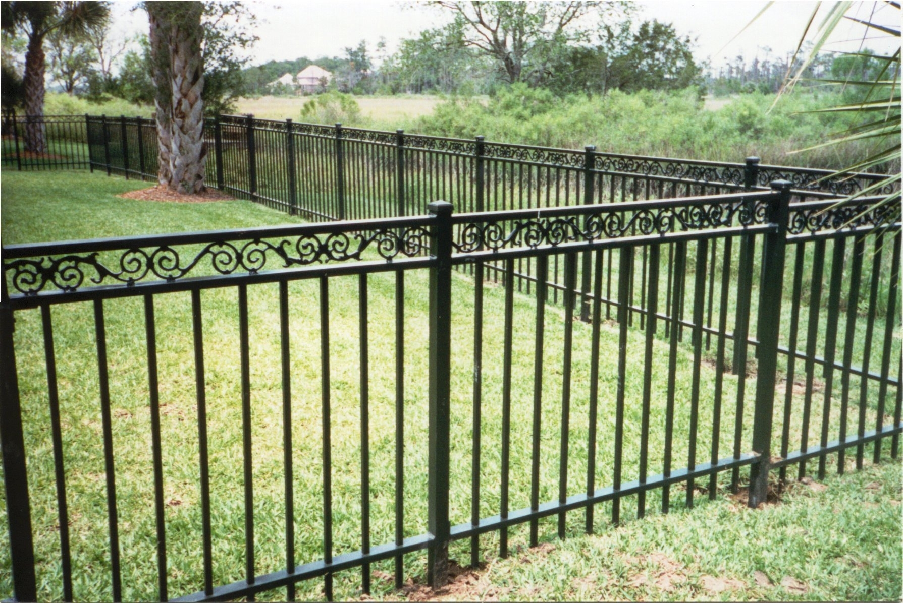 Wrought Iron Fence Rust Repair