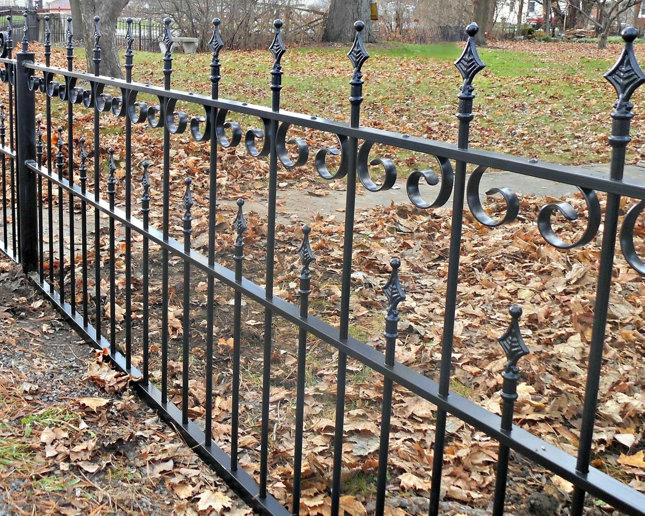 Wrought Iron Fence Vs Aluminum