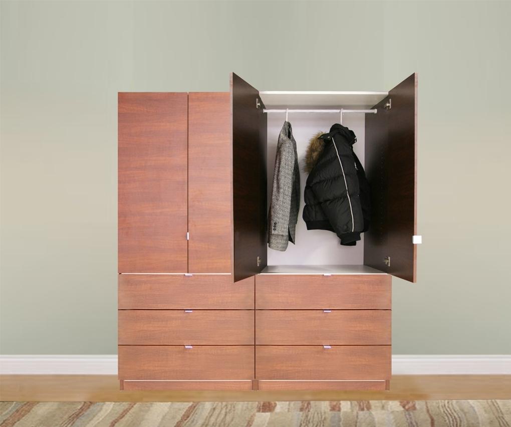 Build Free Standing Wardrobe Madison Art Center Design