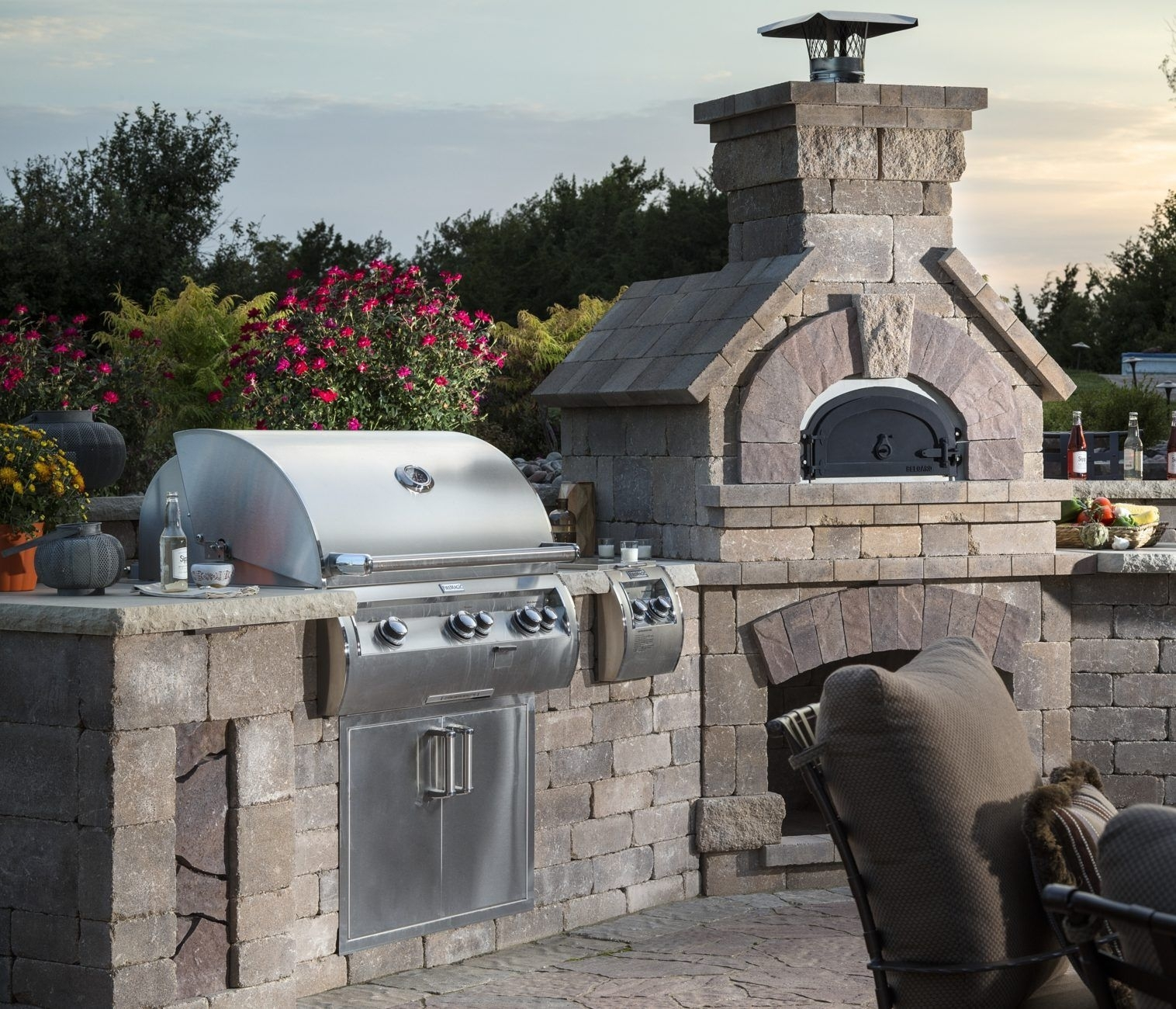 Madison Art Center Design: Outdoor Grill Islands Lowes