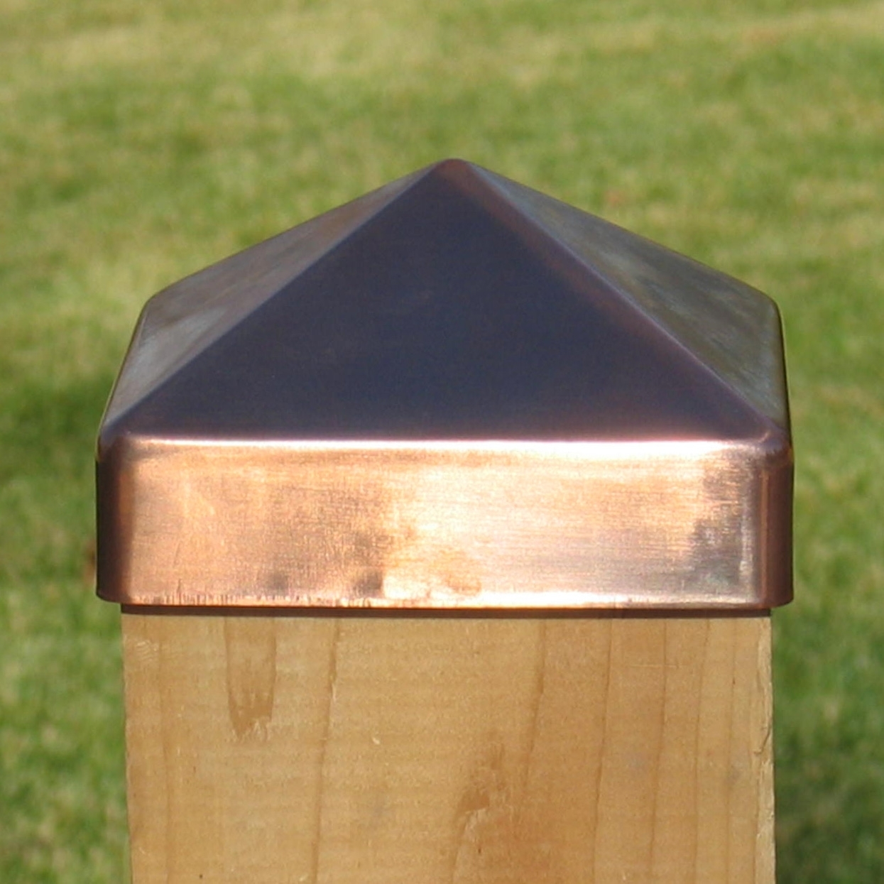 4x6 Copper Post Caps Madison Art Center Design