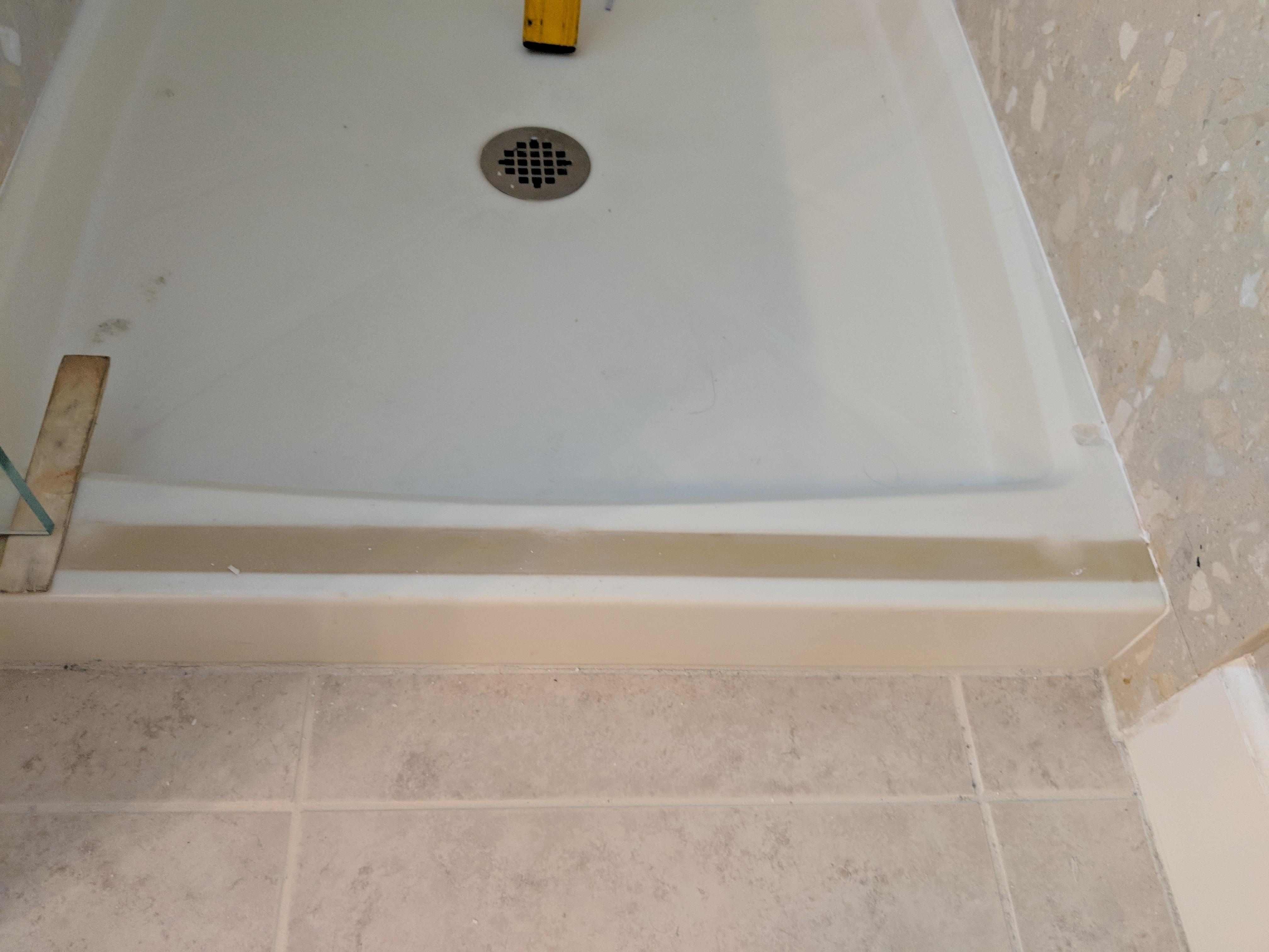 Cultured Marble Shower Pan Gl Block Wall Madison Art