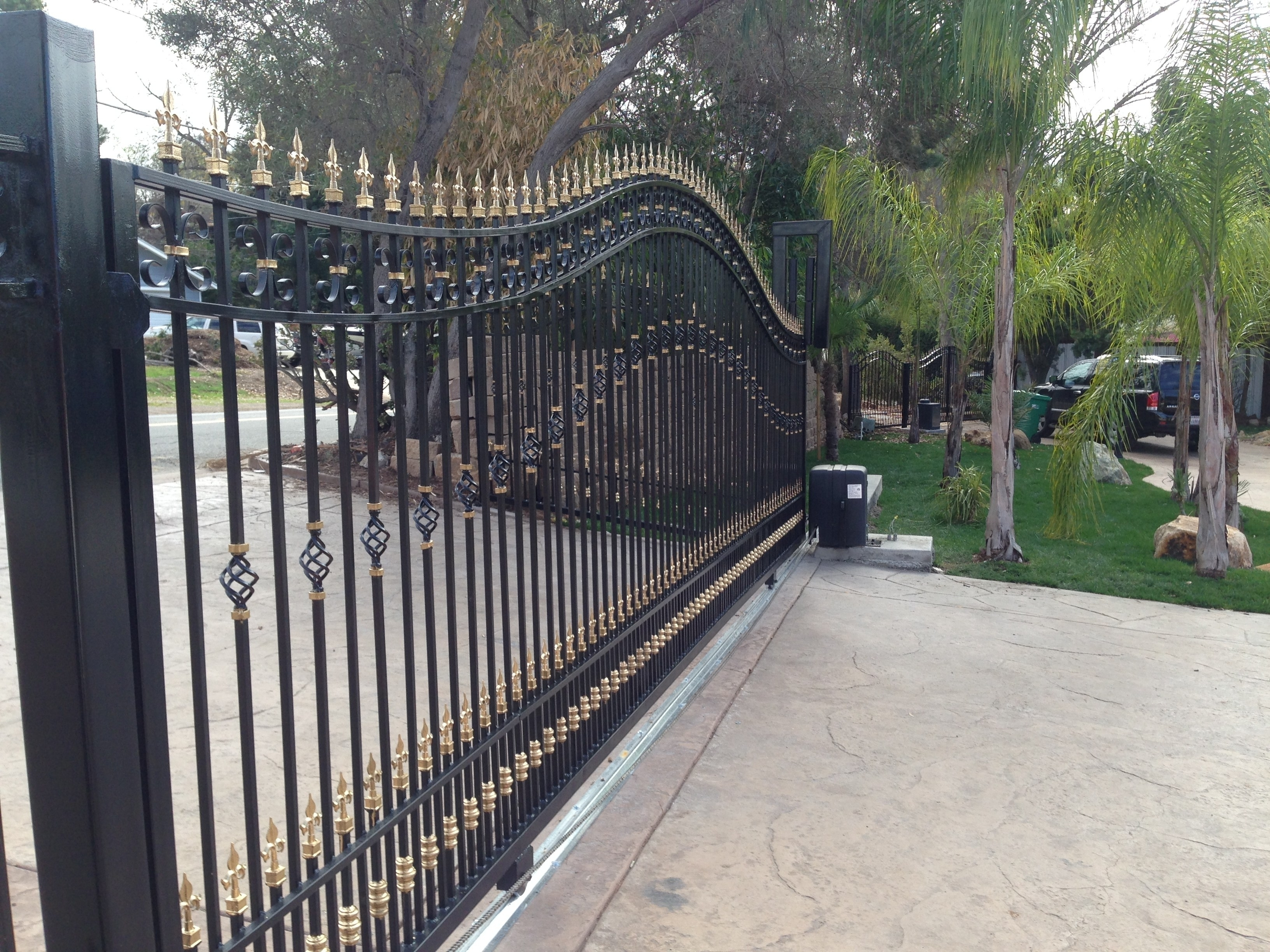 Should You Choose Sliding Driveway Gates Madison Art
