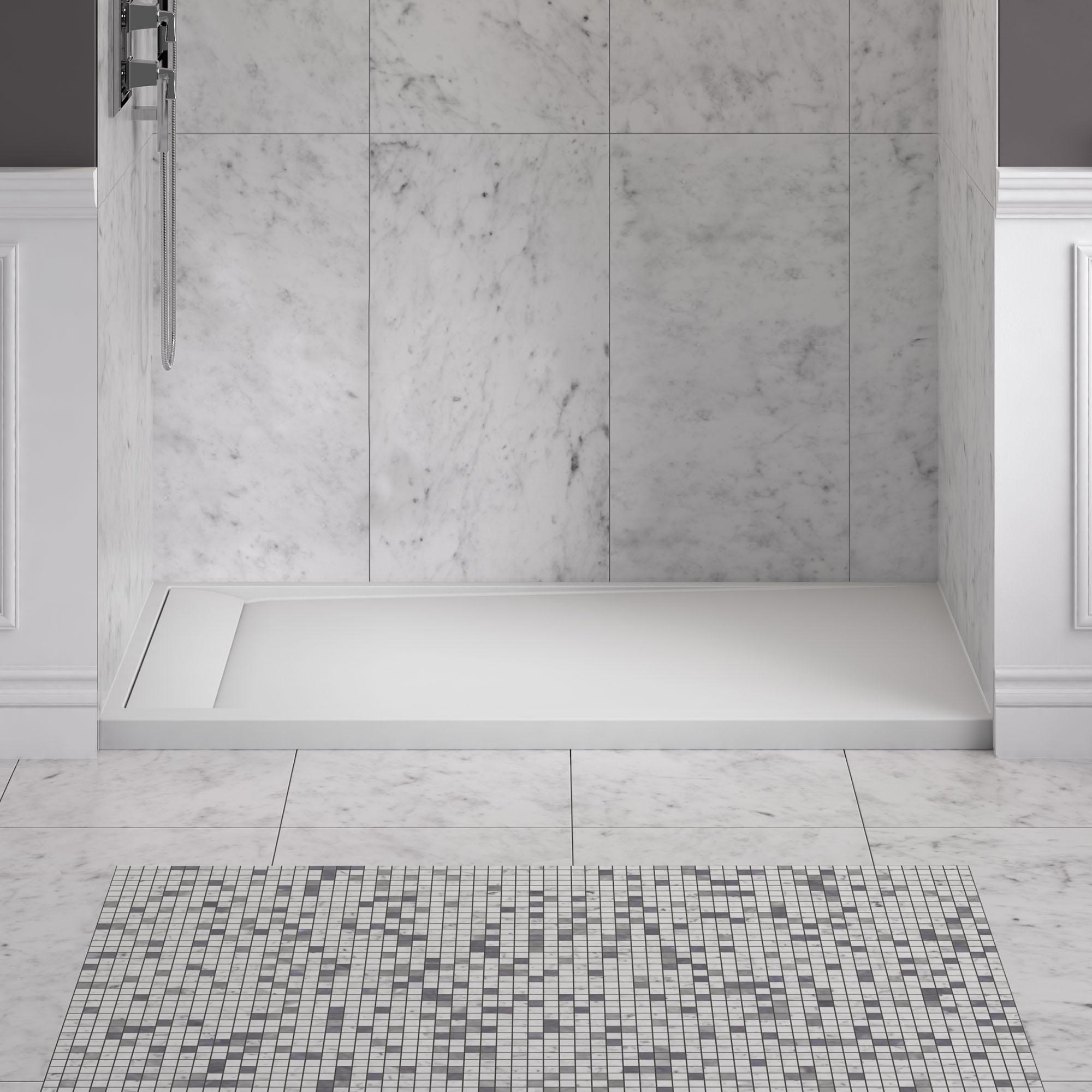 Solid Surface Shower Pan Lowes Madison Art Center Design