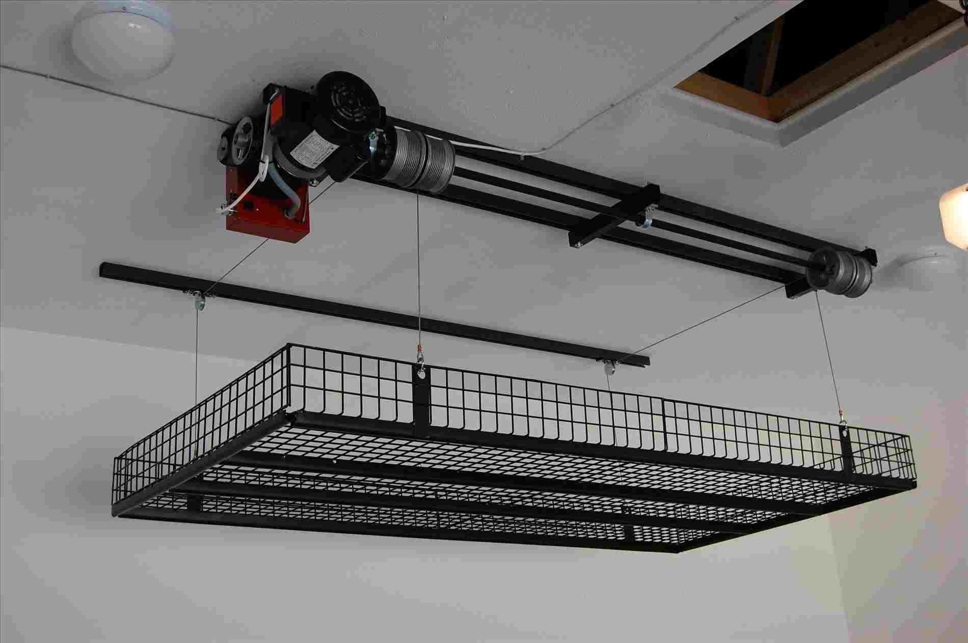 Garage Attic Lift System Madison Art Center Design