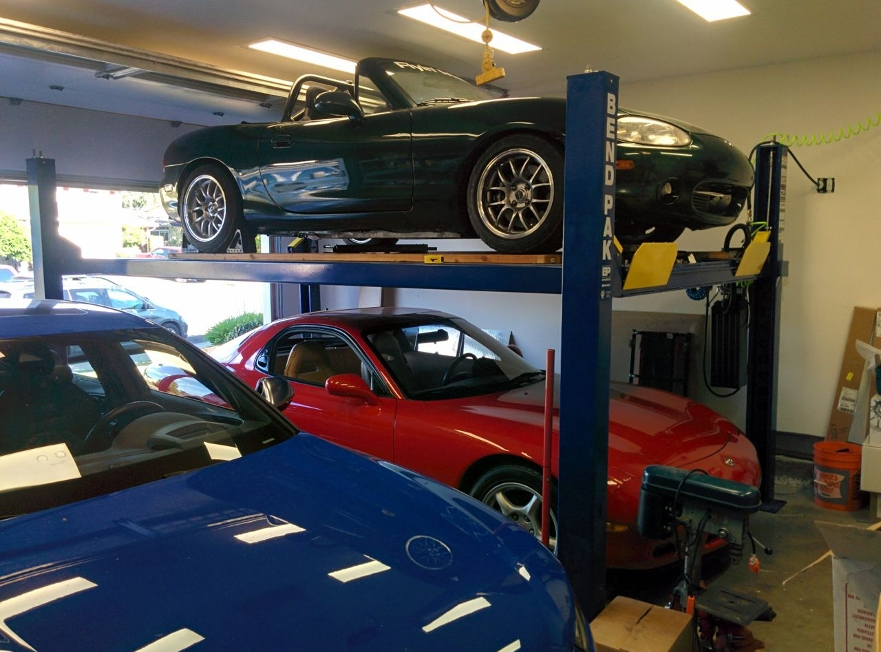 Pulley Lift System Garage Madison Art Center Design