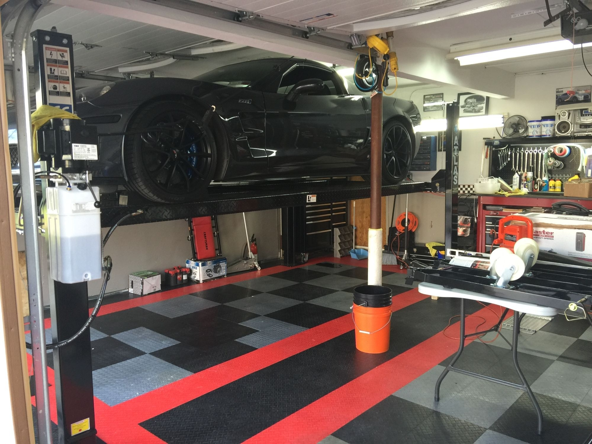 Garage Car Lift System Madison Art Center Design
