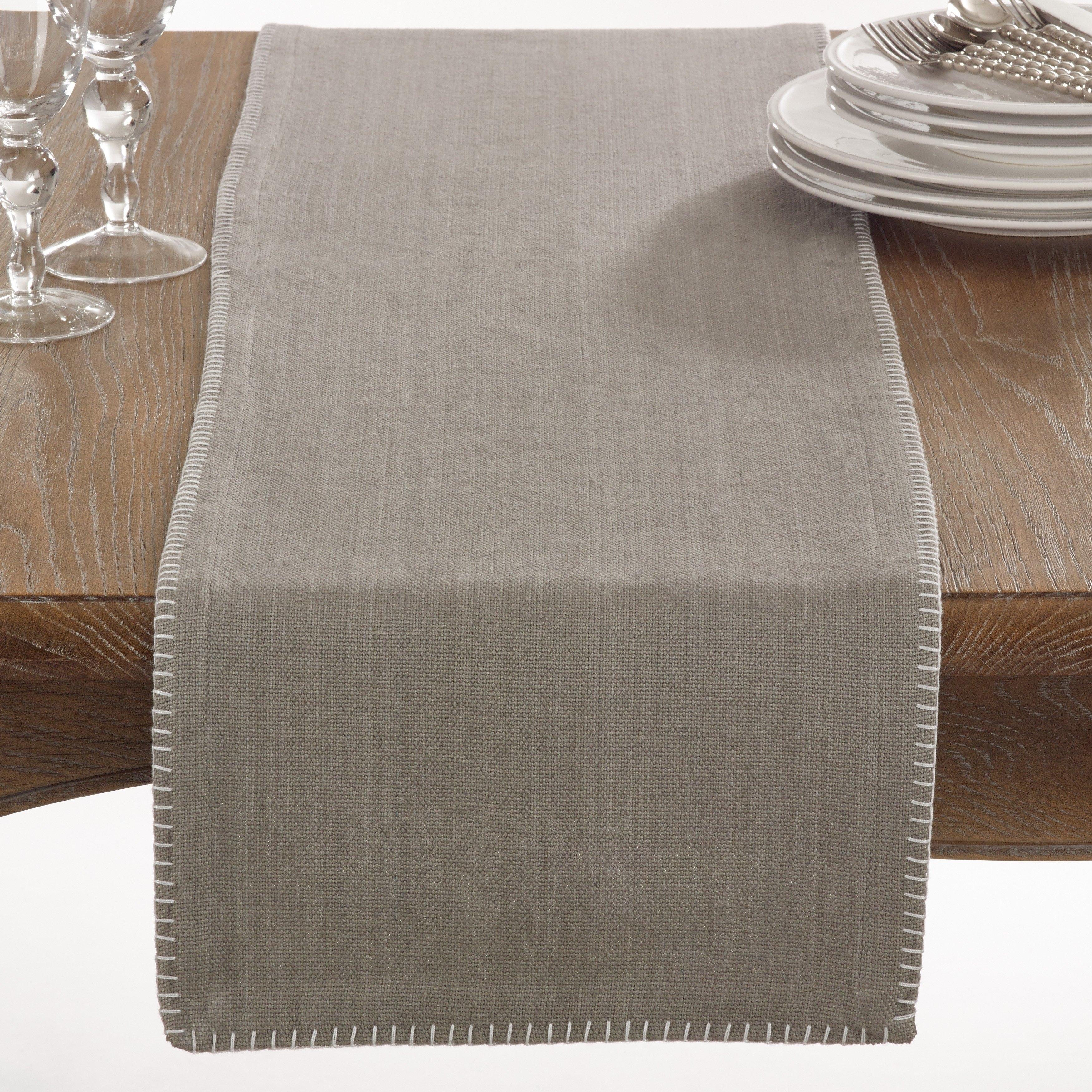 Grey Table Runner For Home Design Madison Art Center Design