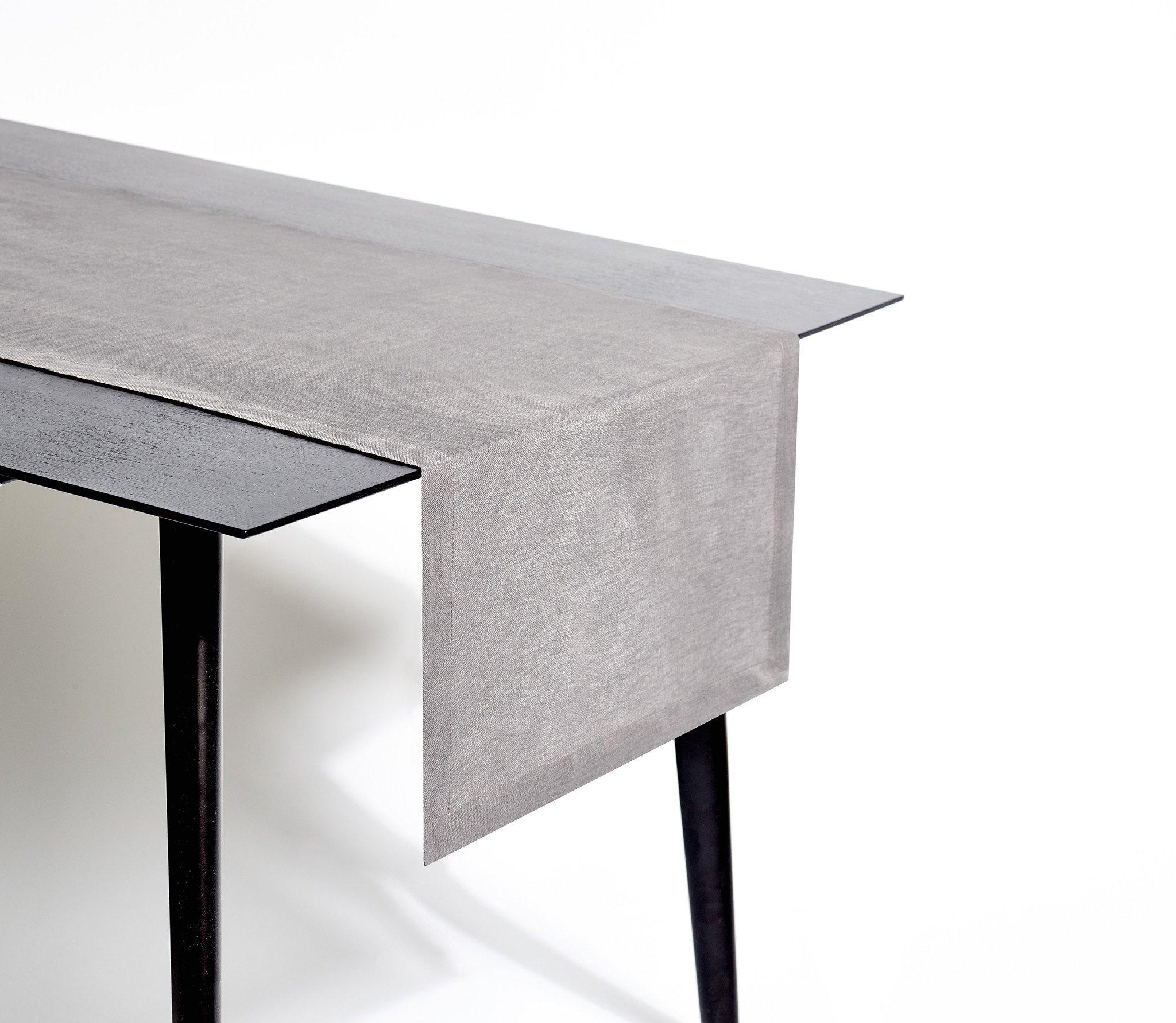 Madison Art Center Design: Grey Chevron Table Runner Plastic
