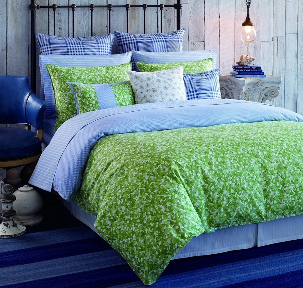 Madison Art Center Design: Lime Green King Size Sheets
