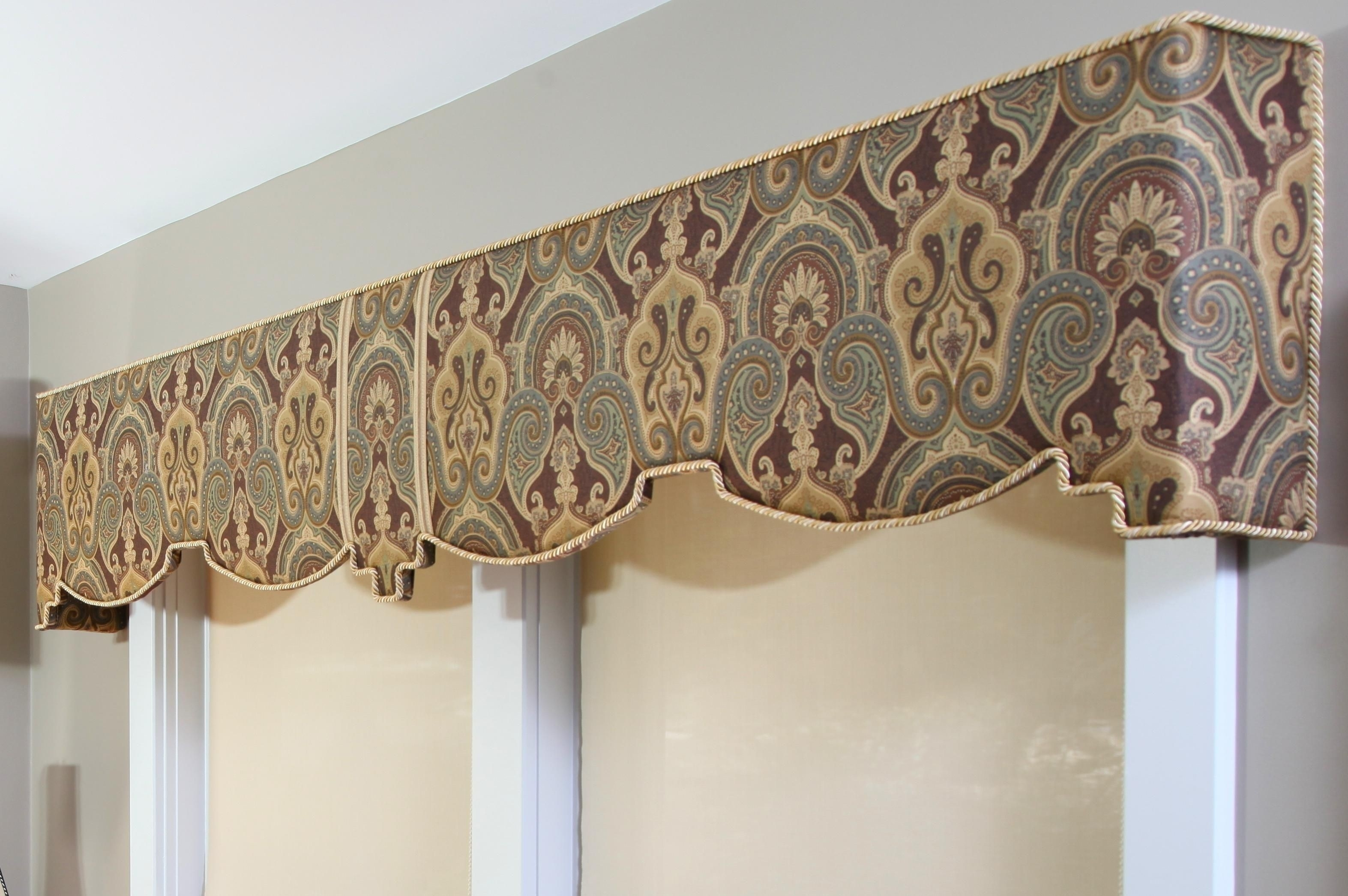 cornice window treatments fabric make your own cornice window treatments do it yourself madison art center design