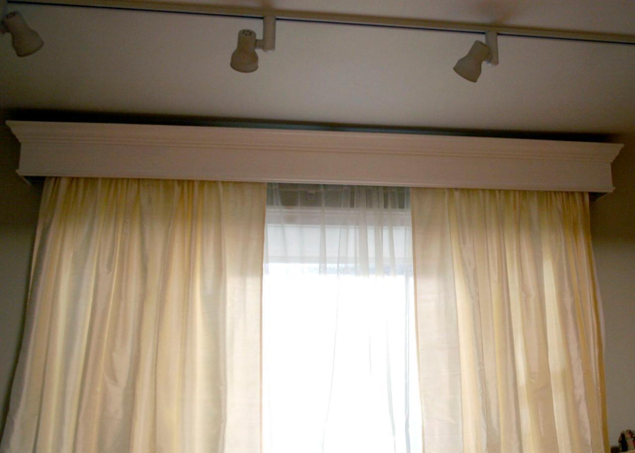 Do It Yourself Window Treatments: Make Your Own Cornice Window Treatments