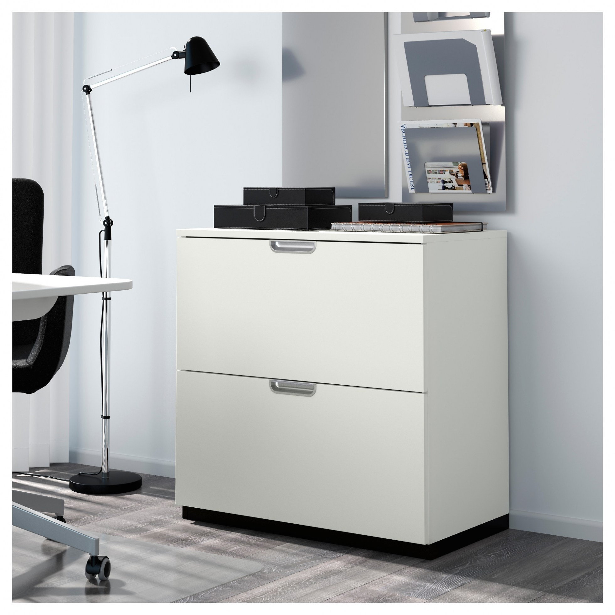 Narrow White Wood Lateral File Cabinet Madison Art Center Design