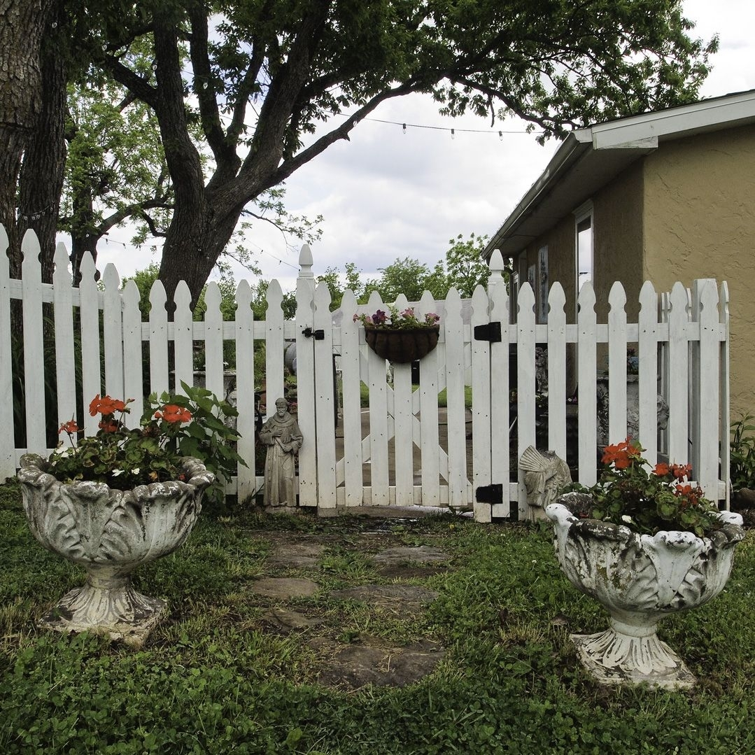 picket fence gate hardware madison art center design. Black Bedroom Furniture Sets. Home Design Ideas