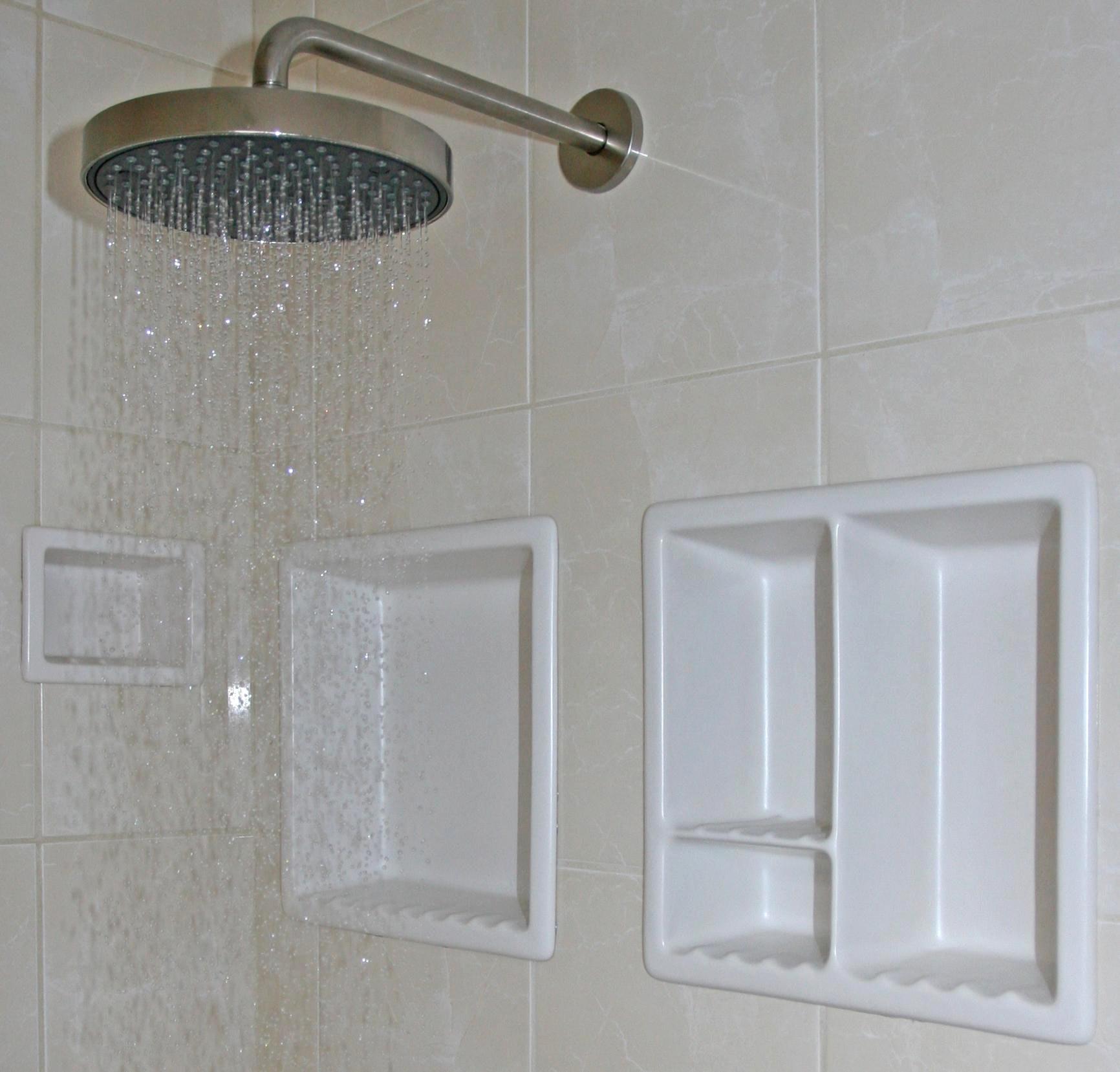 Plastic Shower Niche Insert
