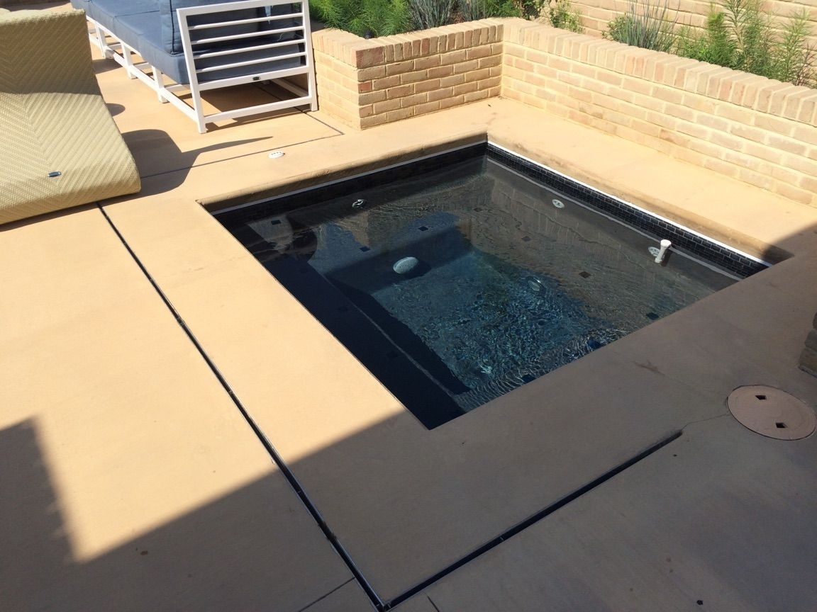 Pool Deck Drain Channel Repair – Madison Art Center Design