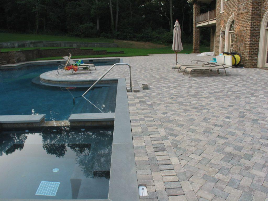 Pool Deck Trench Drain Madison Art Center Design