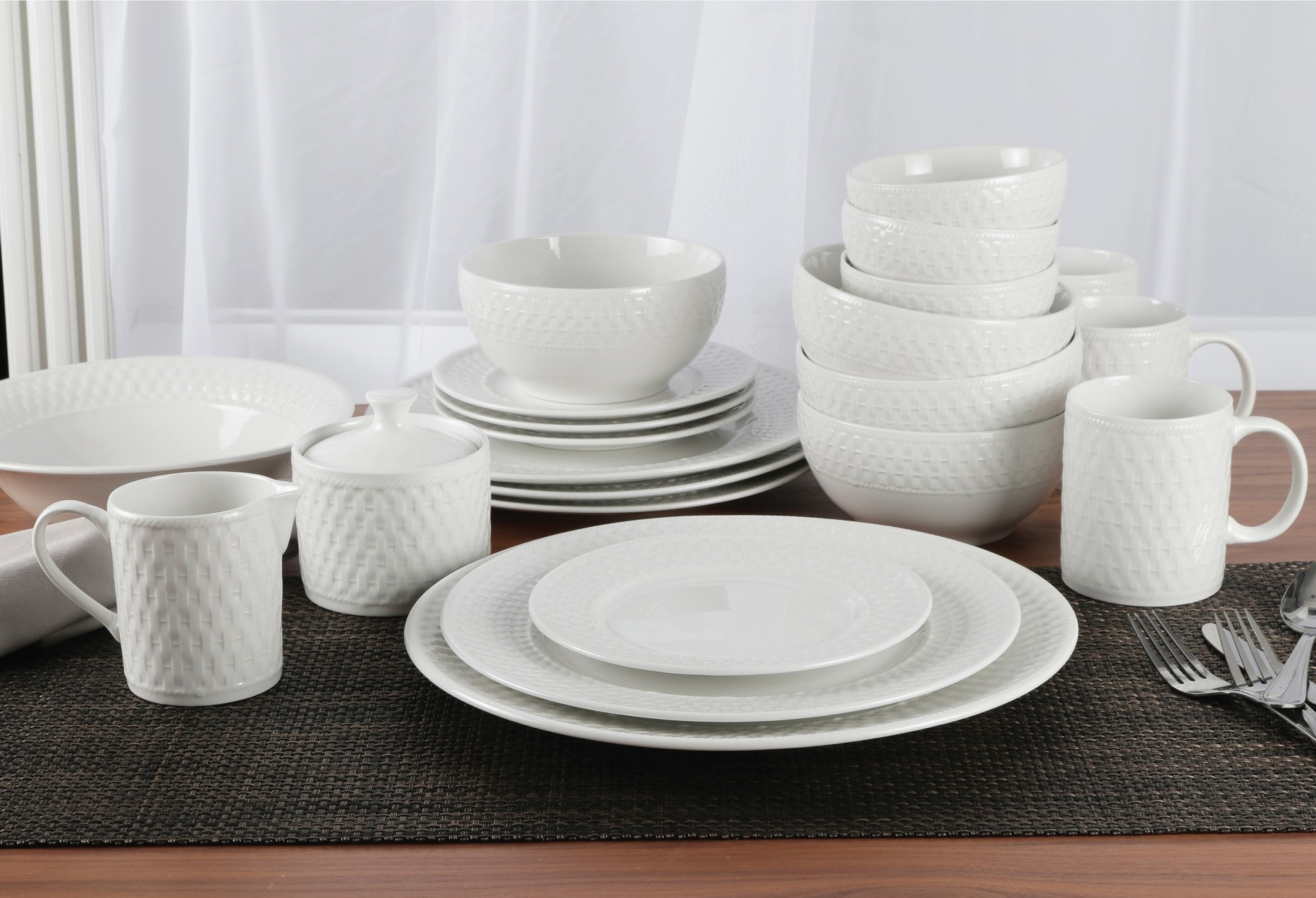 Porcelain Dinnerware Sets Made In Usa Madison Art Center Design