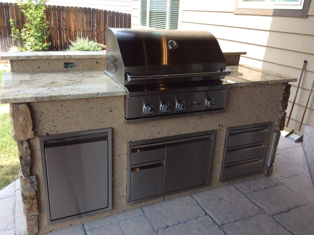 Prefab Outdoor Kitchen Grill Islands Madison Art Center Design