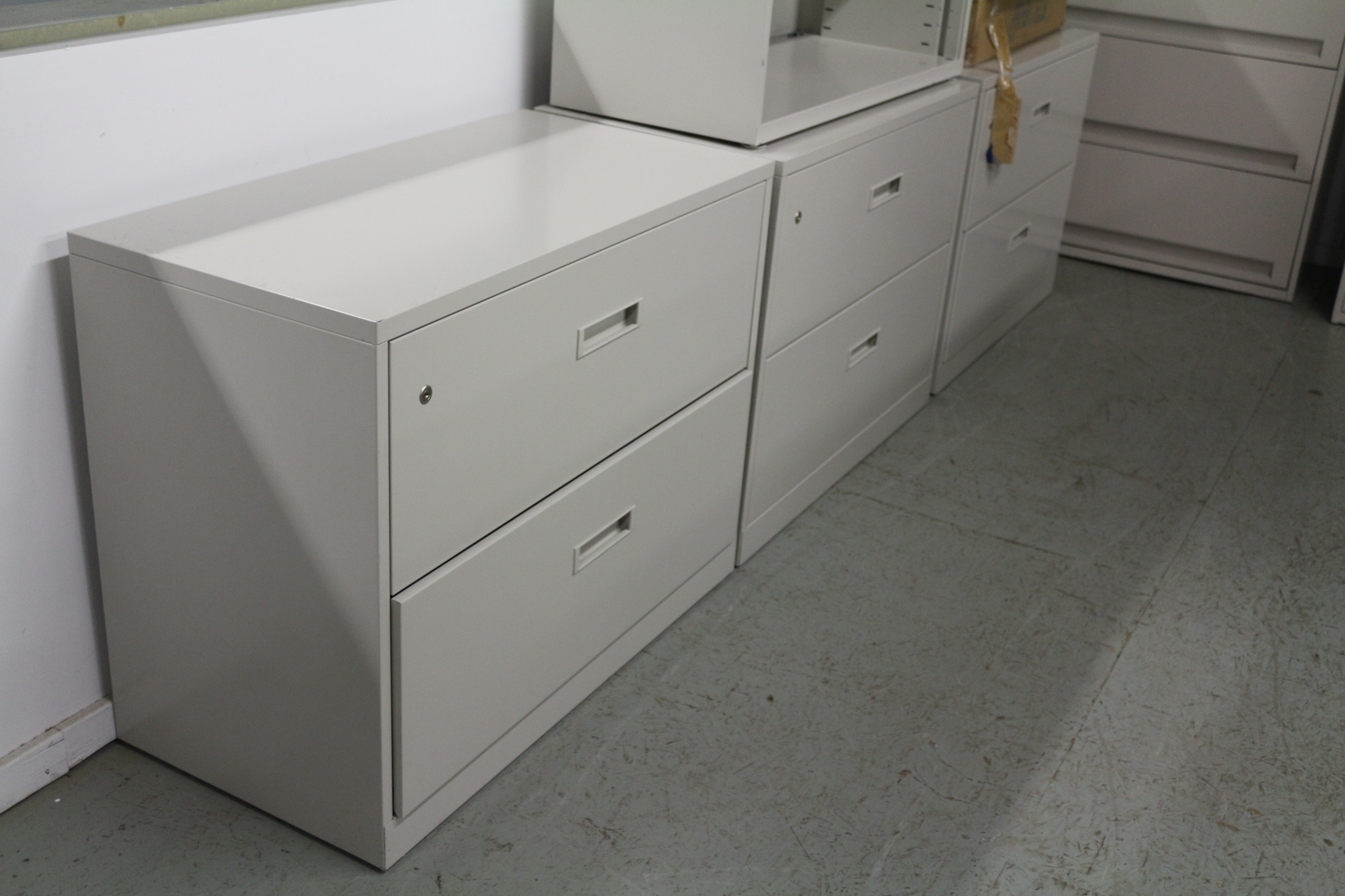 outlet store 98a33 fffc9 Rolling White 2 Drawer Lateral File Cabinet – Madison Art ...