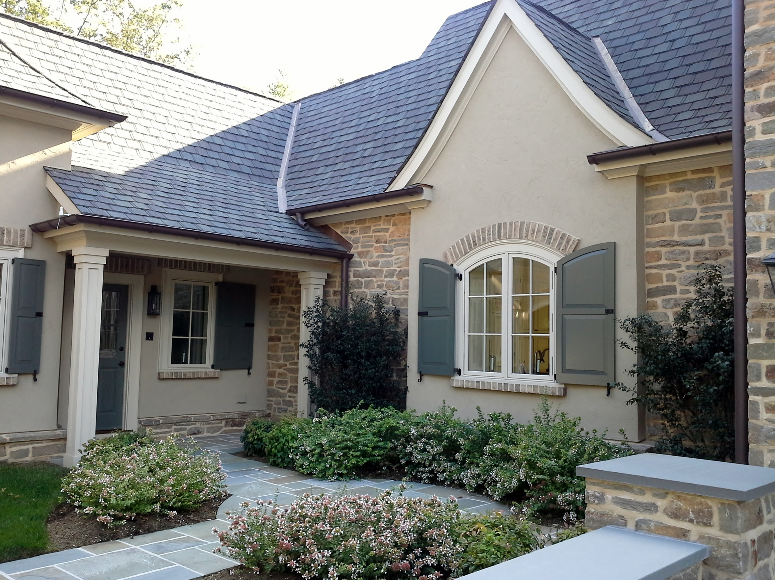 Shutters For Arched Windows Exterior Madison Art
