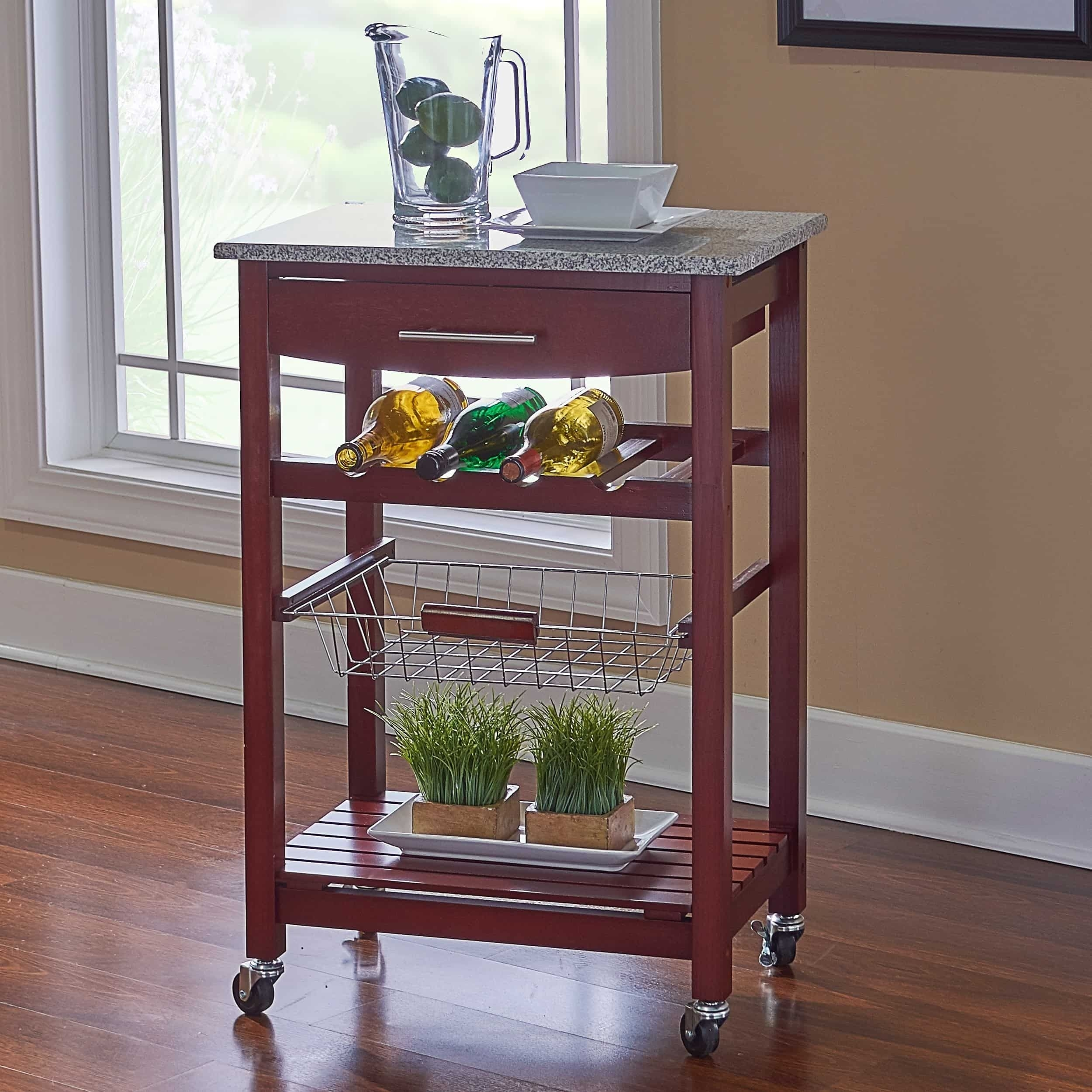 Small Rolling Cart With Drawers