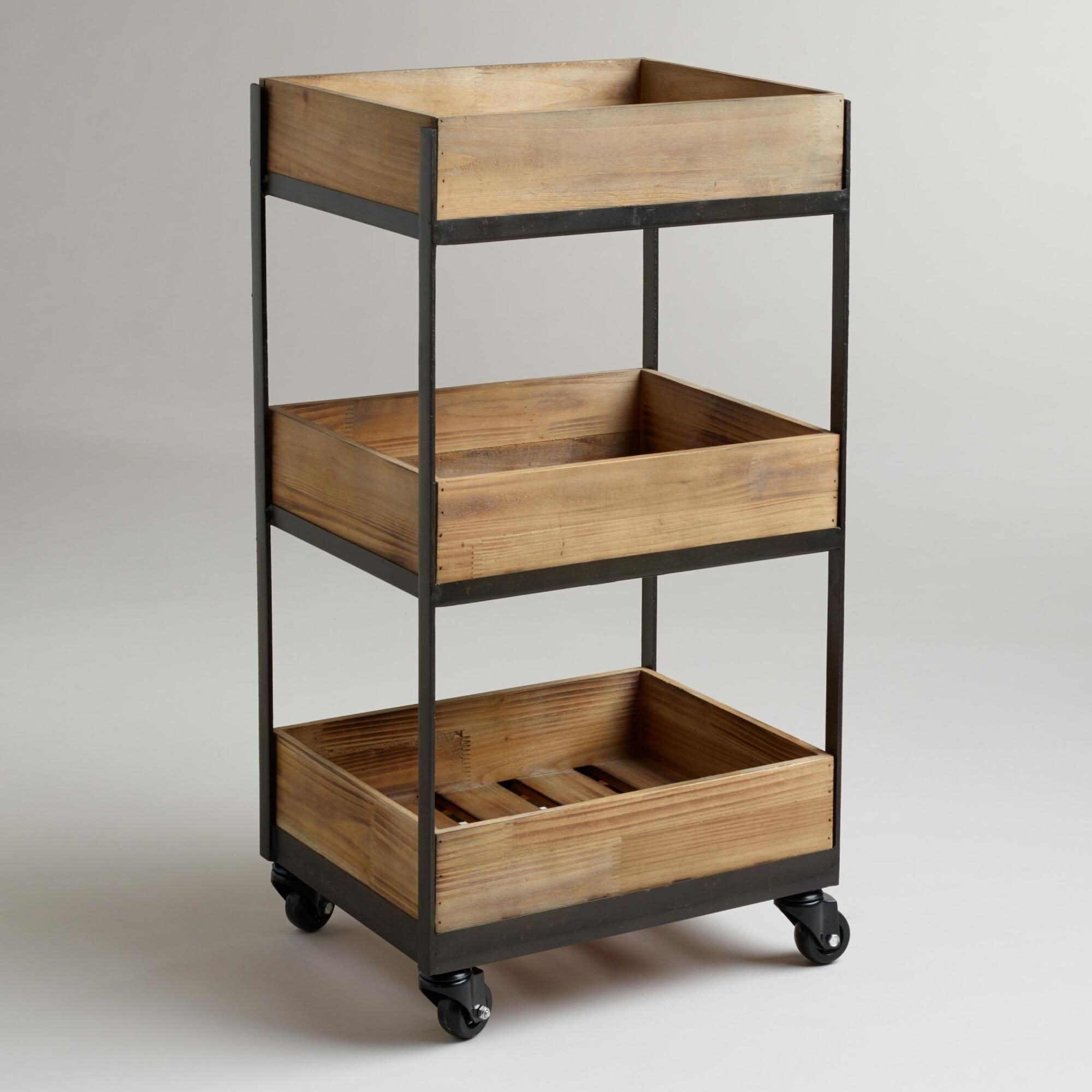 Small Rolling Storage Cart Madison Art Center Design