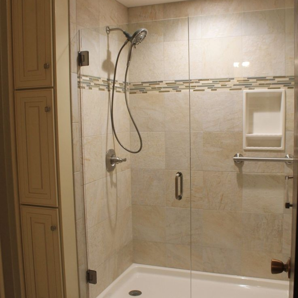 Solid Surface Shower Pan With Tile Walls Madison Art