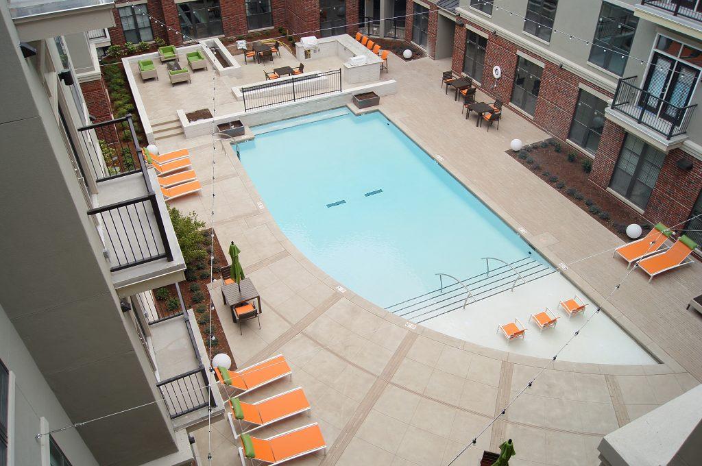 Swimming Pool Deck Drain Madison Art Center Design