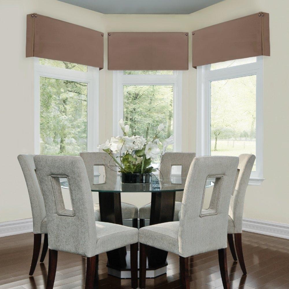 Madison Art Center Design: Cornice Valance Window Treatments