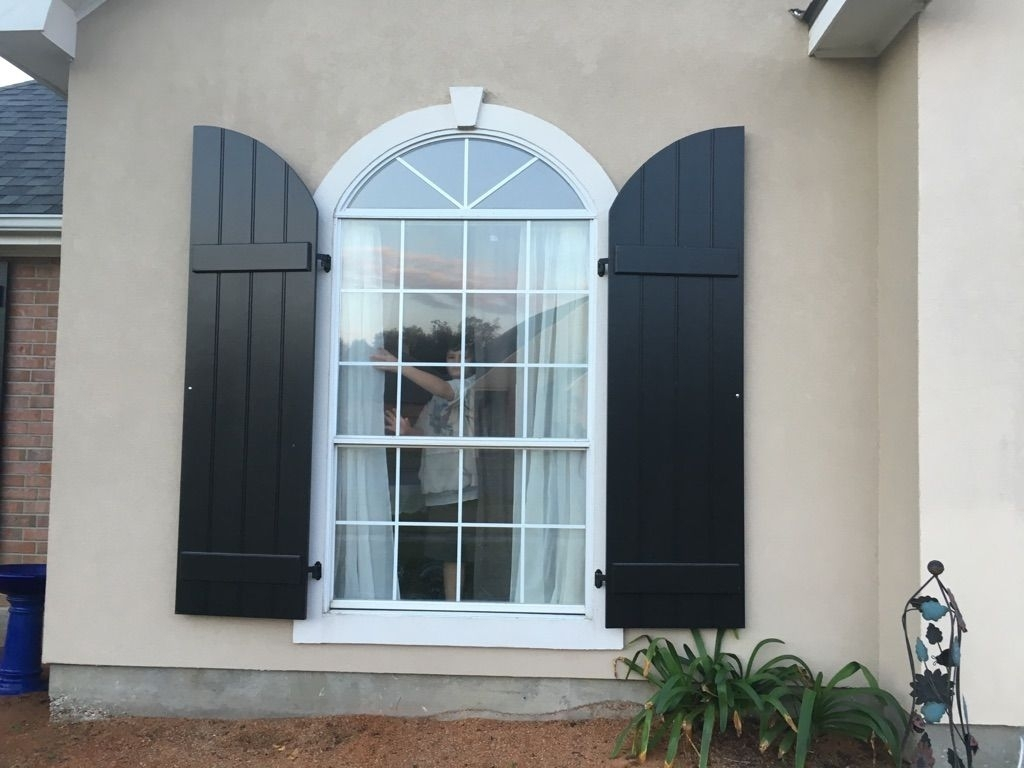Modern shutters for exterior windows madison art center - Interior vinyl shutters for windows ...