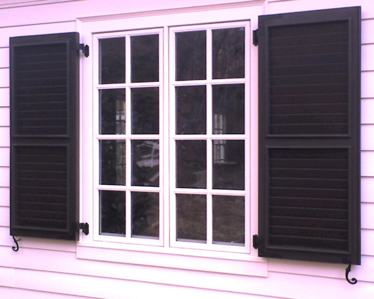 When Close Windows With Exterior Shutters For Windows Madison Art