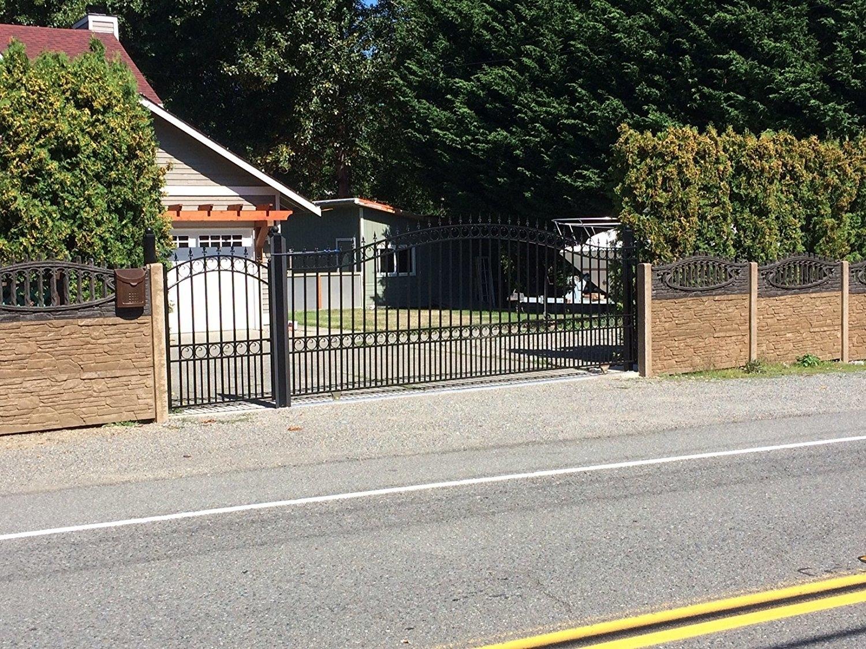 Wrought Iron Sliding Driveway Gates